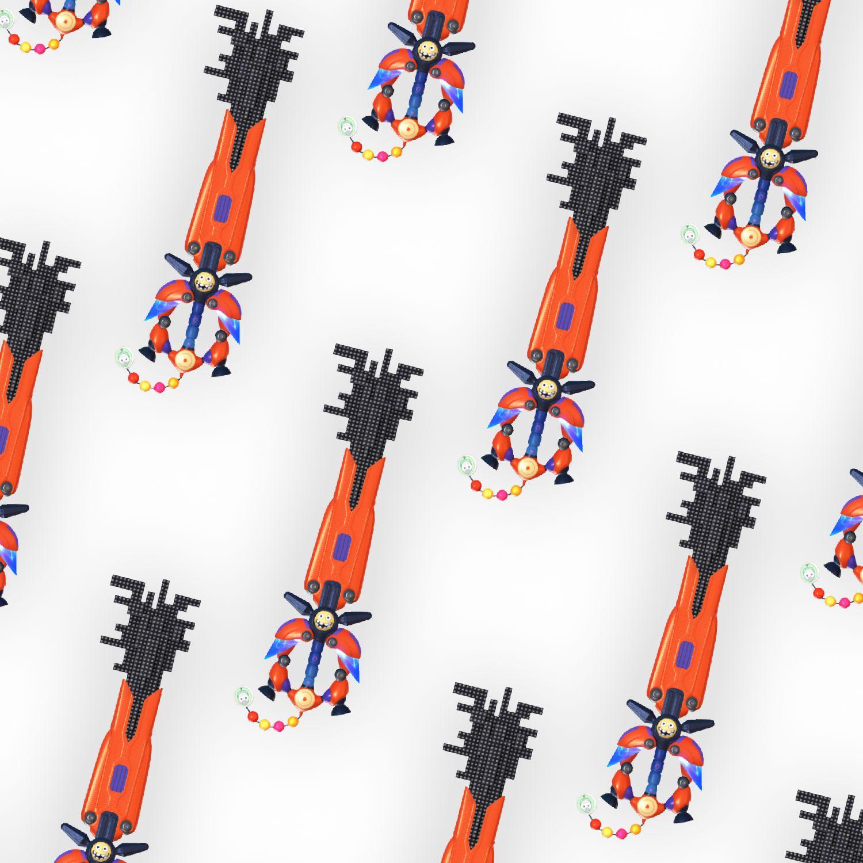 Kingdom Hearts Nano Gear Keyblade