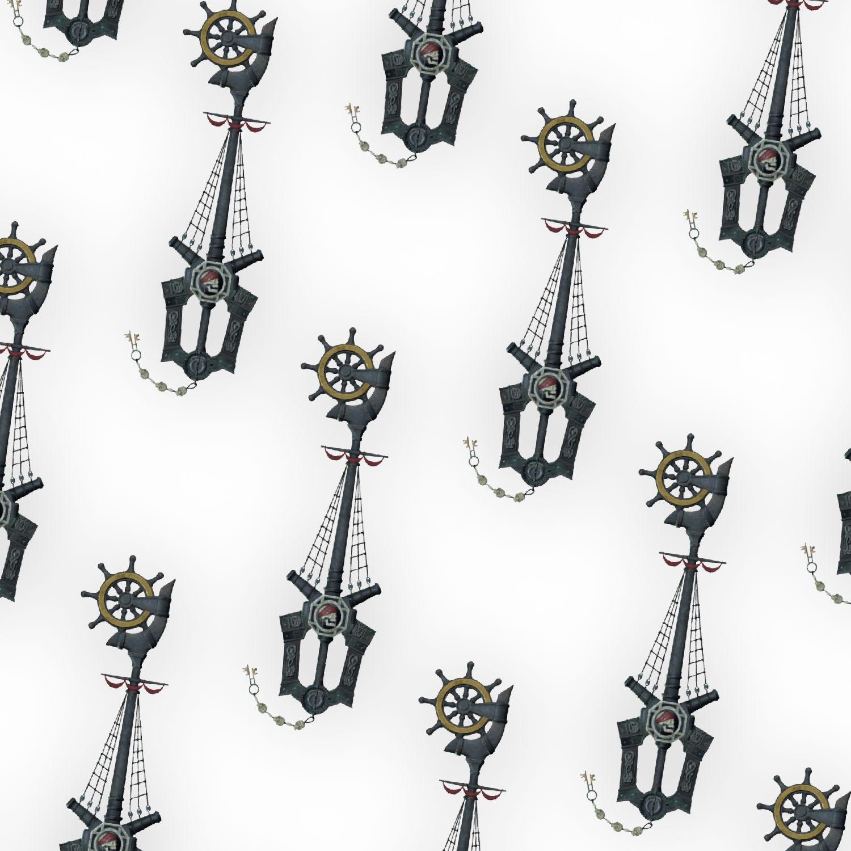 Kingdom Hearts Wheel of Fate Keyblade