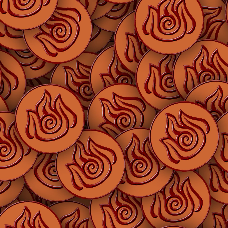 Avatar Fire Symbols