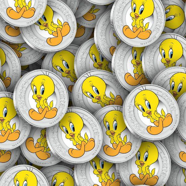 Tweety Bird Coins