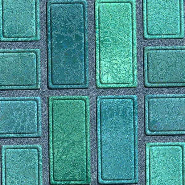 Green Brick Carpet