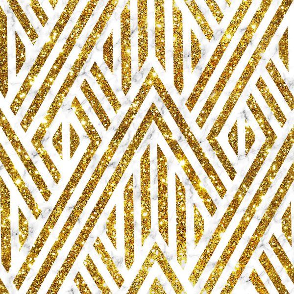 Marble Lines with Gold