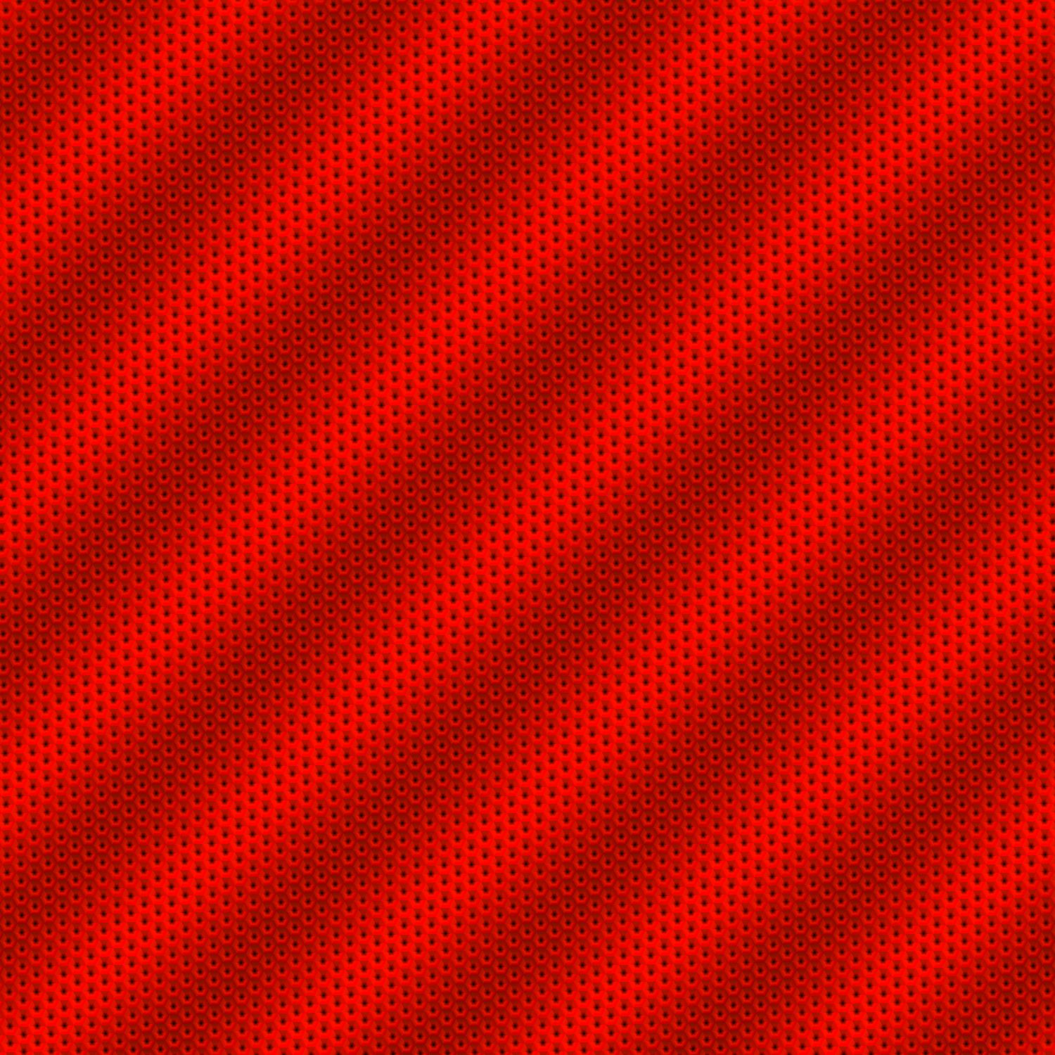 Red Hex Fabric