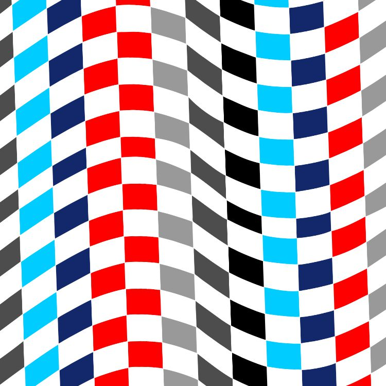 BMW Checkered Flag