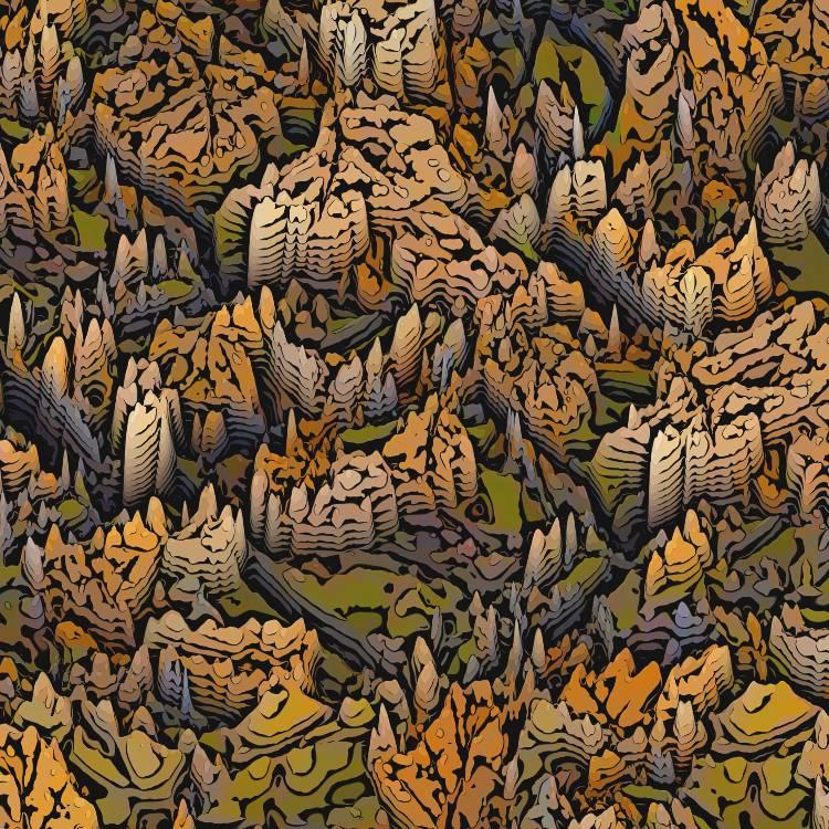 3D Badlands Camouflage