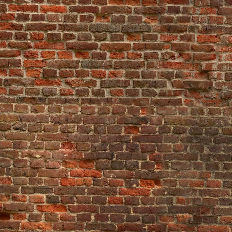 Crumbling Brick Wall