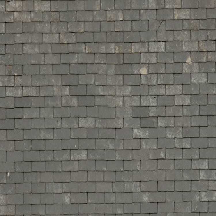 Gray Slate Roof