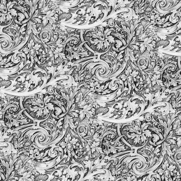 Hand Drawn Scrollwork