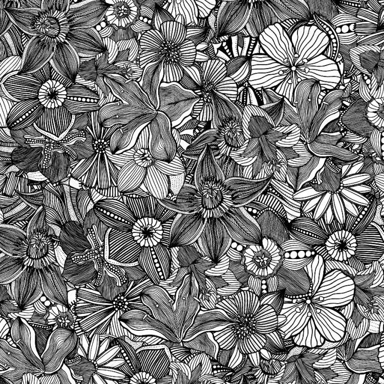Henna Flower Doodles