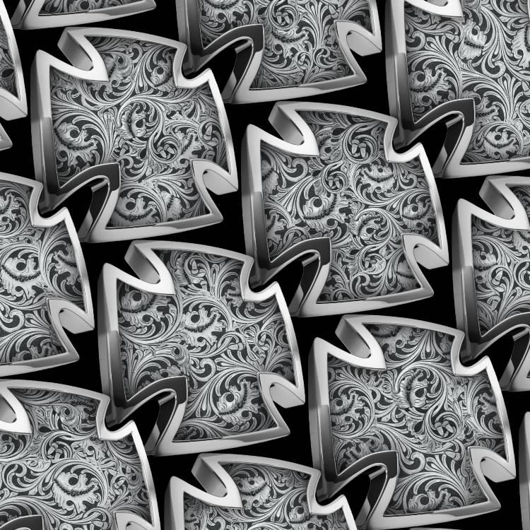Iron Cross Engraved 22