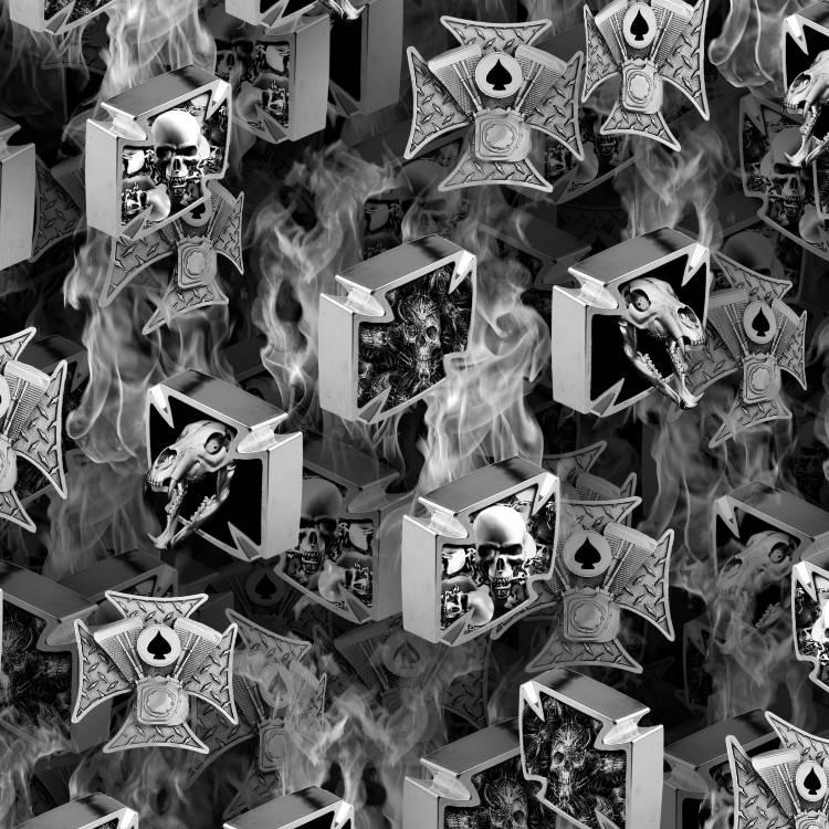 Iron Cross Skulls 23