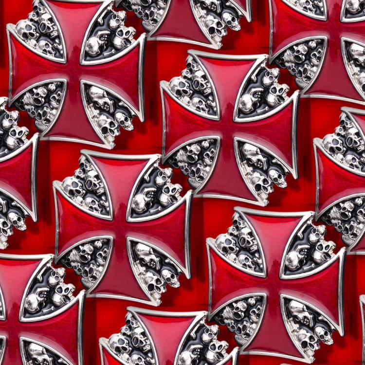 Iron Cross Skulls 29