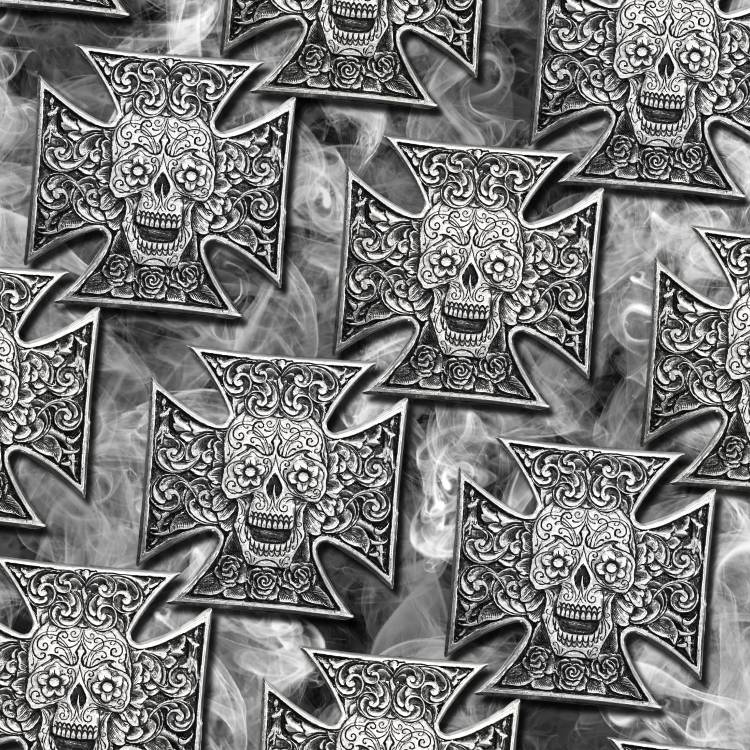 Iron Cross Sugar Skulls 19