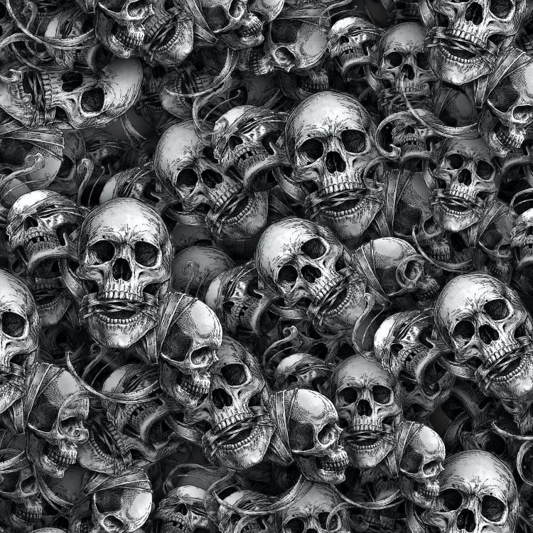 No Evil Skulls 25