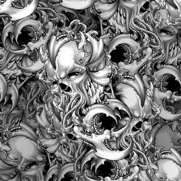 Sea Monster Skulls
