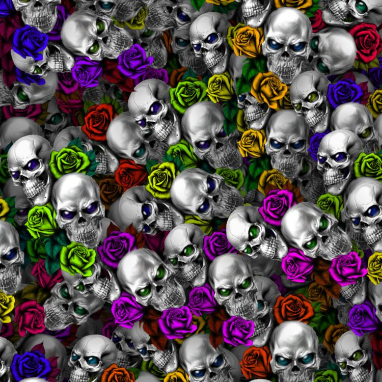 Skull and Roses 46