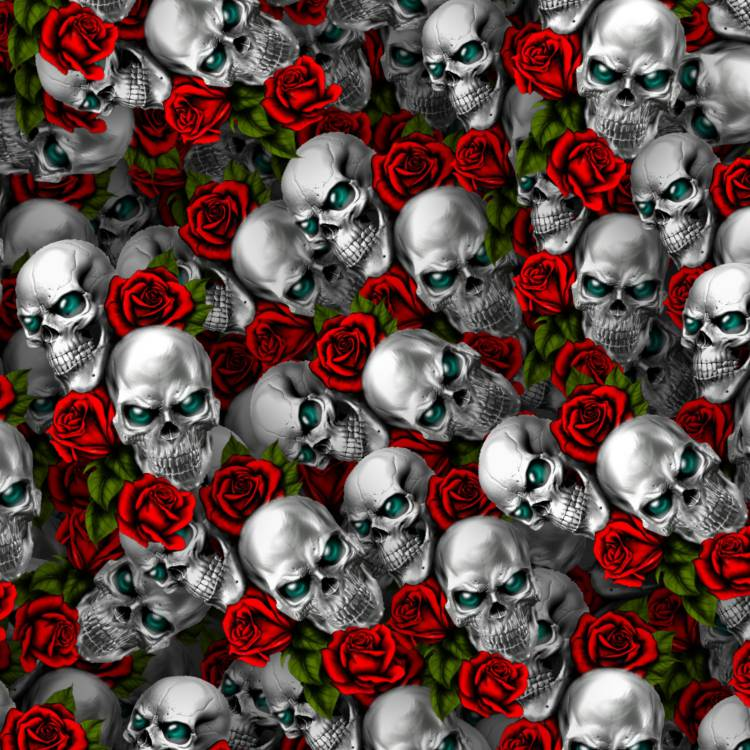 Skull and Roses 47