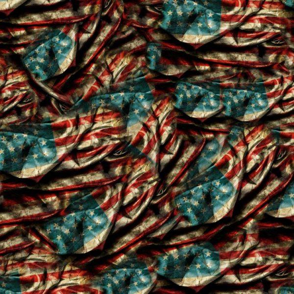 US Grunge Flag 32