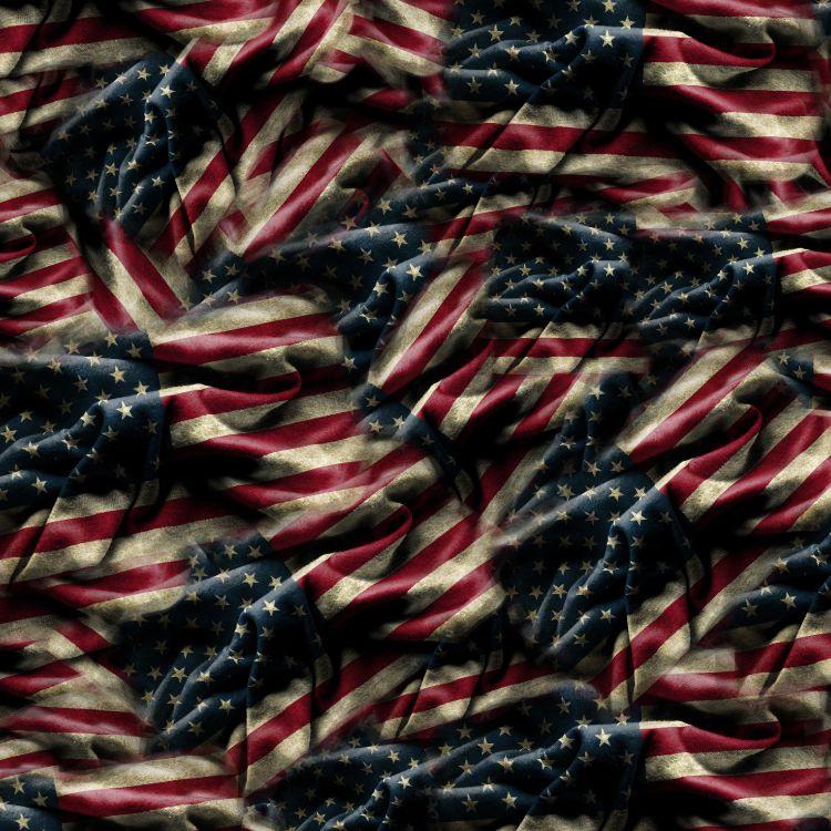 US Grunge Flag 33