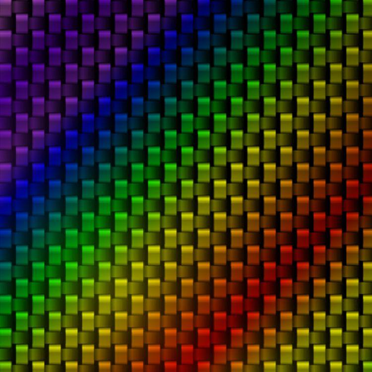 Rainbow Carbon Fiber 22