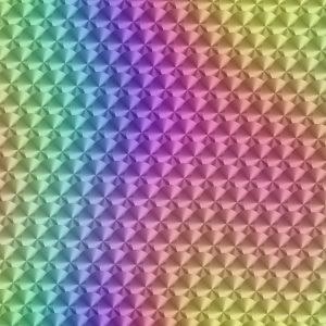 Engine Turned Rainbow 23