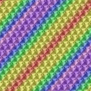 Engine Turned Rainbow 22