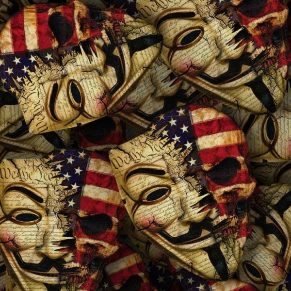 Guy Fawkes Constitutional Skulls 22