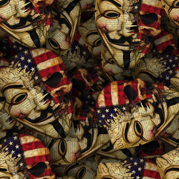 Guy Fawkes Constitutional Skulls 23