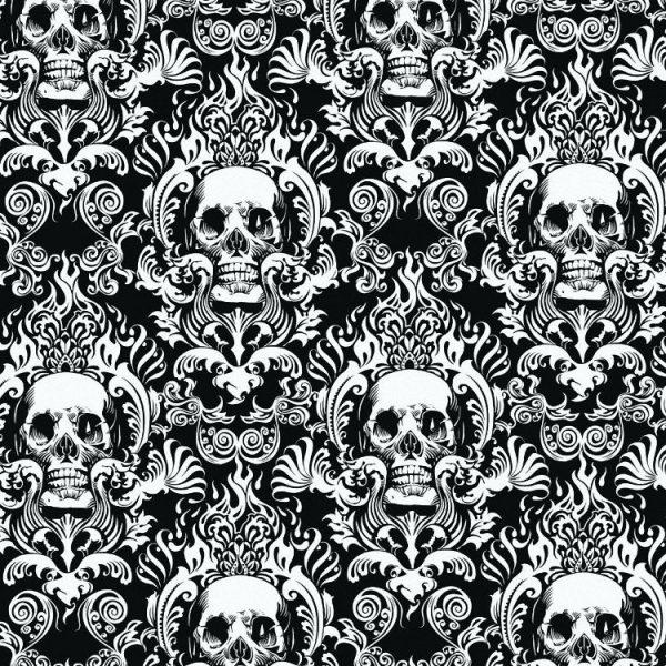 Skeleton Damask 22