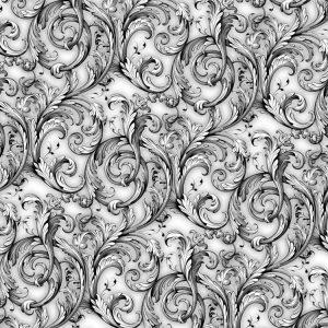 Baroque Acanthus Scrollwork