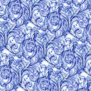 Flow Blue Acanthus 23