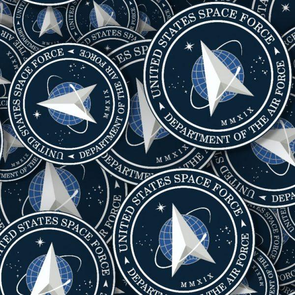 Space Force Badge Emblem 22