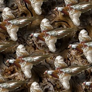 Pheasant Flying