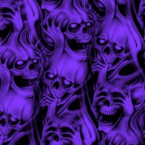 Quiet Flaming Skulls 25