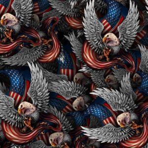 Silver Eagle Flag 26