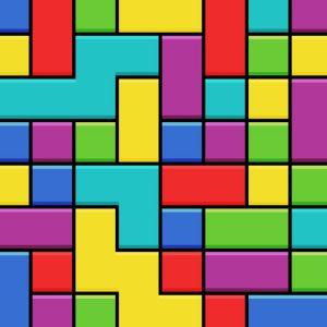 Faux Tetris Blocks
